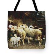 The Young Shepherd Tote Bag