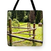 The Zig-zag Fence Tote Bag