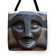 Theater Mask Tote Bag