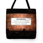 Theater Night In New York Tote Bag