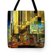 Theatre District - Neighborhoods Of New York City Tote Bag