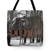 Thee Old Pink House Tote Bag
