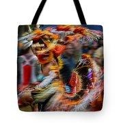 Their Spirit Is Among Us - Nanticoke Powwow Delaware Tote Bag
