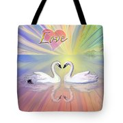 Themes Of The Heart-love Tote Bag