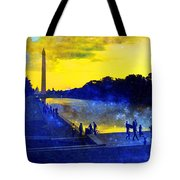 Then The Light Came Swiftly Tote Bag