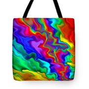 Then The Sky Exploded 3 Tote Bag