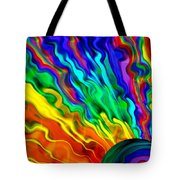 Then The Sky Exploded 6 Tote Bag