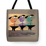 Then There Were Three Tote Bag