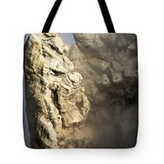 Theodore Roosevelt At Yellowstone Tote Bag