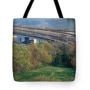 Theodore Roosevelt Bridge, Washington Tote Bag
