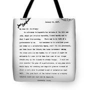 Theodore Roosevelt Cuba Tote Bag