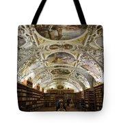 Theological Hall Strahov Monastery Tote Bag