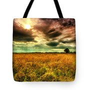There Is A Sun After The Storm Tote Bag