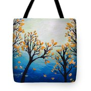 There Is Calmness In The Gentle Breeze Tote Bag