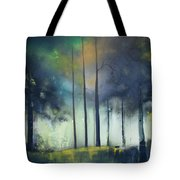 There Is Light At The End Of The Woods Tote Bag