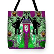 There It Is The Fantasy Panda Hat Tote Bag