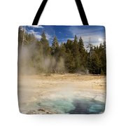 Thermal Landscape Tote Bag