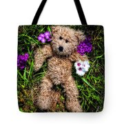 These Are For You - Cute Teddy Bear Art By William Patrick And Sharon Cummings Tote Bag