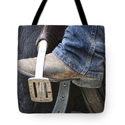 These Boots Are Made For Working Tote Bag