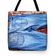 These Old Jeans Tote Bag