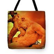 Theseus And The Minotaur Tote Bag