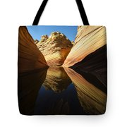 The Wave Reflected Beauty 1 Tote Bag
