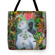 They Are The Standing Dead - Framed Tote Bag