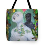 They Are The Standing Dead - Framed Tight Tote Bag
