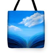 They Flowed Together Tote Bag