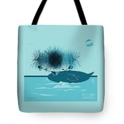 They Say I'm A Beautiful Swan Tote Bag