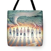 They Stand Resolute Tote Bag by Amy S Turner