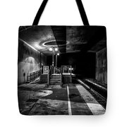They Took The Last Train To Boston Tote Bag