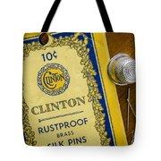 Thimble And Pins Tote Bag