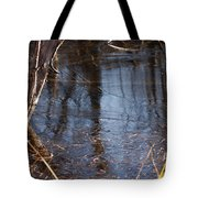 Thin Ice Of A New Day Tote Bag