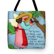 Things Visible And Invisible Tote Bag