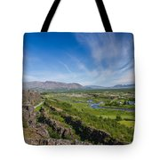 Thingvellir Iceland Tote Bag