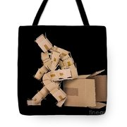 Think Outside The Box Concept Tote Bag
