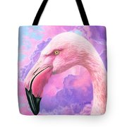 Think Pink Flamingo Tote Bag