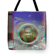 Thinking Inside The Box - Red/cyan Filtered 3d Glasses Required Tote Bag
