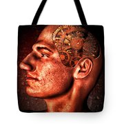 Thinking Man Tote Bag