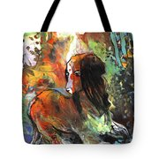 Thinking Of Tolere Tote Bag
