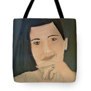 Thinking Of What To Do Next Tote Bag by Pamela  Meredith