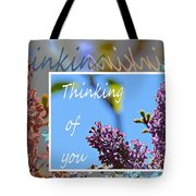 Thinking Of You 2 Tote Bag