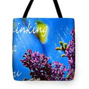 Thinking Of You 3 Tote Bag