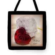 Thinking Of You Greeting Tote Bag