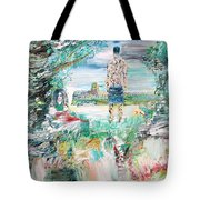 Third Stone From The Sun Tote Bag