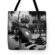 Thirteen Inch Mortar Tote Bag