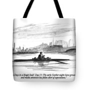 'thirty Days In A Single Scull.' Day 17: Tote Bag