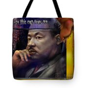 This Cup - The Reality That Was King Tote Bag by Reggie Duffie