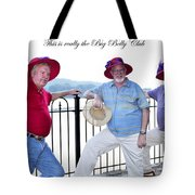 This Is Really The Big Belly Club Tote Bag